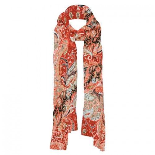 Mela Purdie Breeze Scarf - Kimono Print Mousseline