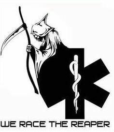 We race the reaper