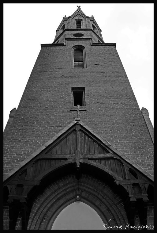 Church tower - Dankow (Poland)