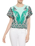 Alice Mccall S/S Foolish Top #davidjones #bluesandgreens #newarrivals #autumnwinter2013