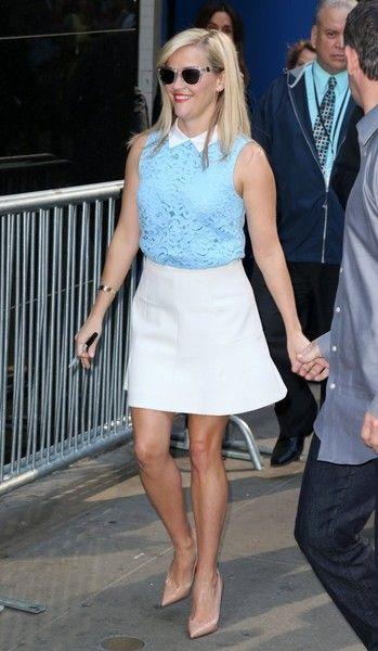 Reese Witherspoon Photos - Celebrities Visit 'Good Morning America' - Zimbio