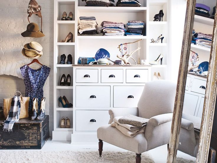 It may seem intimidating at first, but ..., a tidy closet can do wonders for your well-being. You'll be able to get dressed more quickly, and you'll feel invigorated by your organized and accessible collection of clothing. To inspire you to tackle that crowded mess known as your closet, ... pros—stylists who organize and edit clients' closets for a living—use.
