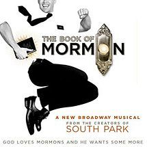 Joseph Smith claimed to have translated an ancient manuscript revealed to him in 1820 into modern English under divine inspiration by the gift and power of God, and the publication of this translation are known as the Book of Mormon.  The musical The Book of Mormon won 9 Tony Awards, one of which was for Best Musical and a Grammy Award for Best Musical Theater Album.
