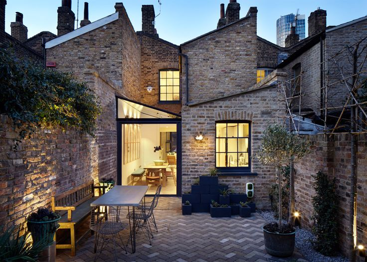 Lambeth Marsh House, une sublime extension à Londres signée Fraher Architects