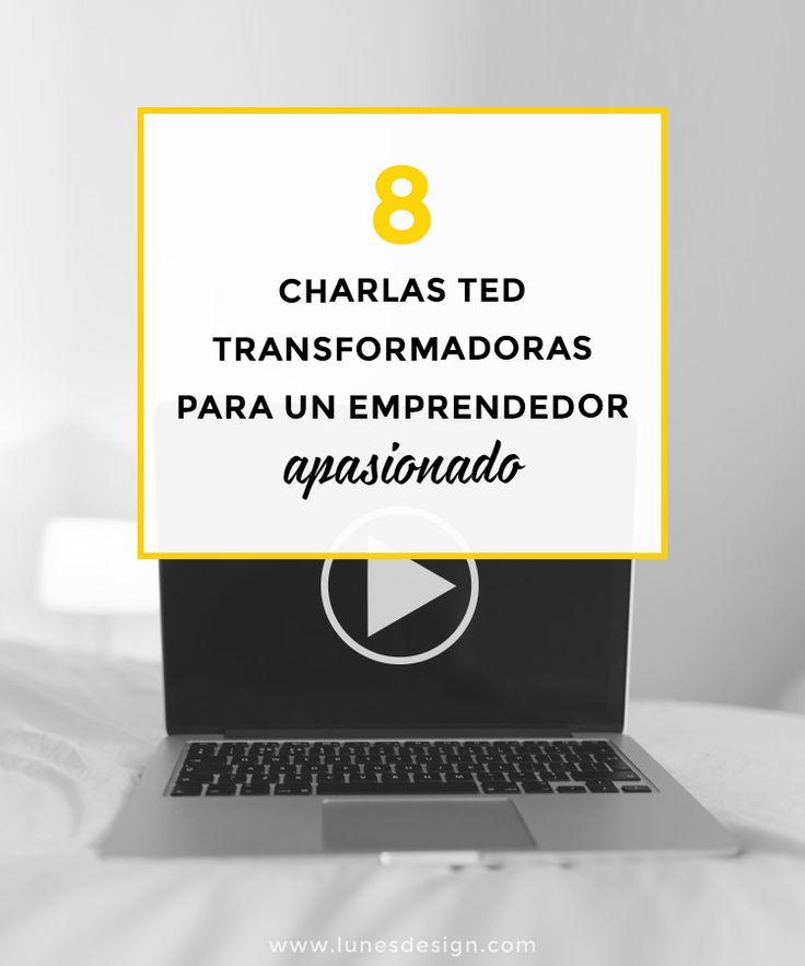 Las charlas TED son una fuente de inspiración inagotable para los emprendedores apasionados. Te traigo 8 de las mejores y más útiles para tu negocio.