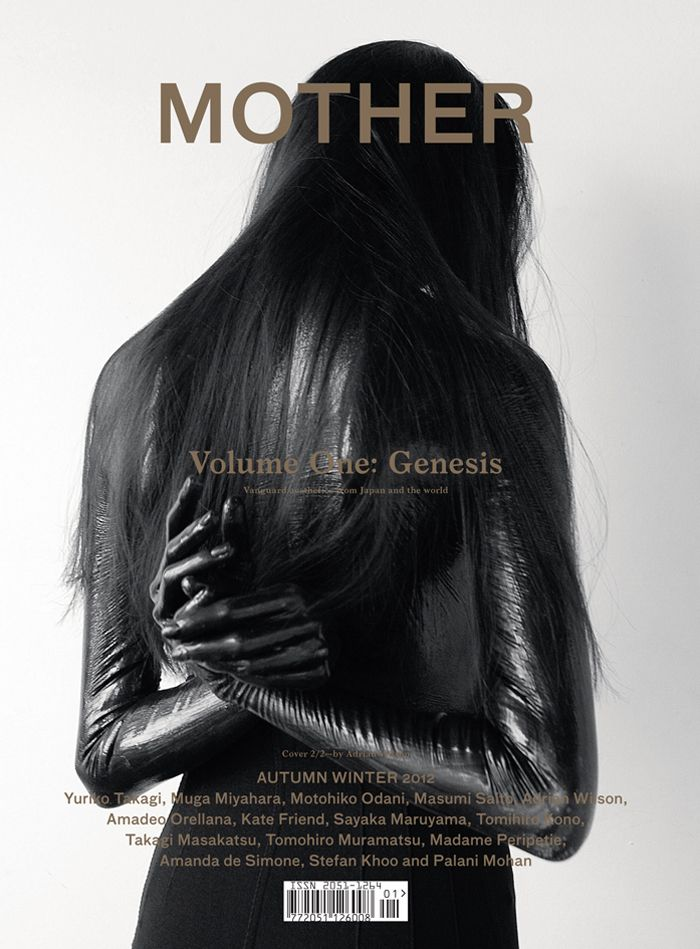Cover 2/2. Photographer Adrian Wilson covers Vita at Select in pure liquid latex. Styled by Aida Wazni, Make-up by Natsume Watanabe at Caren. Art direction by Michael Bartz.http://adrian-wilson.com/