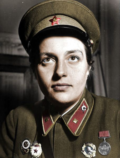 Lyudmila Pavlichenko- Soviet sniper with 309 kills and Hero of the Soviet Union by Za Rodinu, via Flickr http://www.flickr.com/photos/36919288@N08/3780549061/in/photostream/