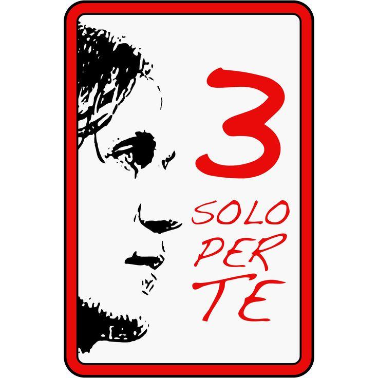 3 SOLO PER TE - Paolo Maldini (Badge, Logo, Addio, Farewell)