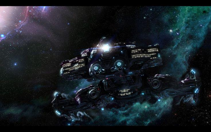 StarCraft 2 Hyperion BattleCruiser: Free Wallpapers
