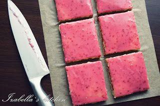 Izabella`s kitchen Desert simplu cu dulceata de zmeura