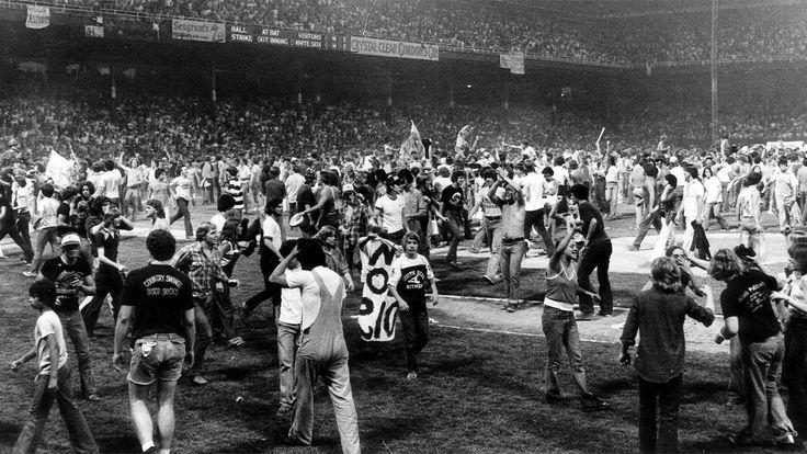 Disco Demolition Night, Comiskey Park 1979