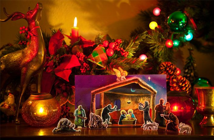 Zombie Nativity Scene - Awesome!