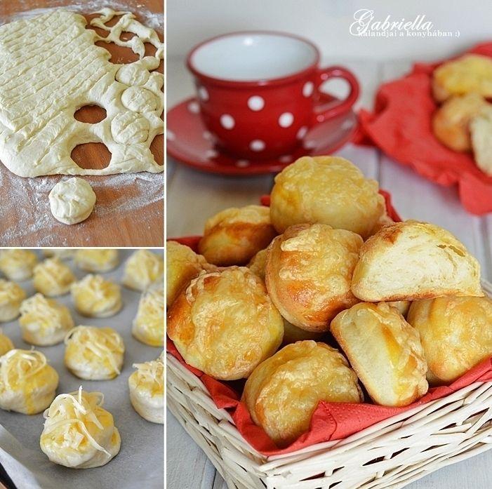 Sajtos burgonyás pogácsa 50 dkg finomliszt átszitálva 1 dl langyos tej 2 dkg friss élesztő 1 csipet kristálycukor 3 db közepes burgonya megfőzve, áttörve (ez kb. 30 dkg) 1 tojás sárjája 20 dkg szobahőrmérsékletű vaj 2 enyhén púpos teáskanál só a tetejére 1 tojás felverve kb. 15 dkg reszelt trappista sajt