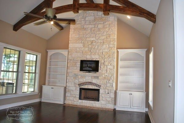 austin stone fireplace Austin Stone Fireplace Before and After - Blog from Irwin