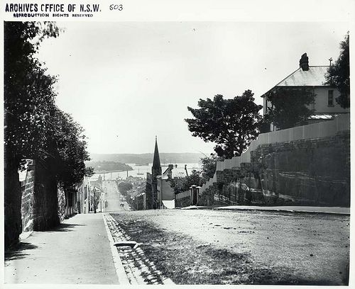Forbes Street leading towards Woolloomooloo Bay| Flickr - Photo Sharing!