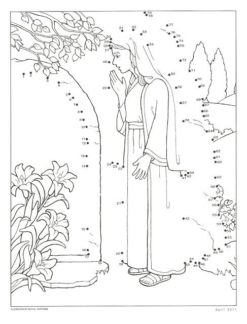 17 best images about sacrament activities on pinterest for Lds easter coloring pages