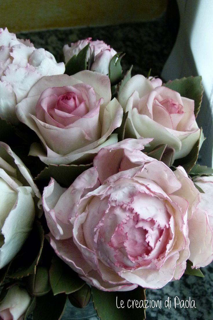 Peonia e rose