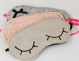 Tutoriel DIY: Coudre soi-même un masque de nuit via DaWanda.com