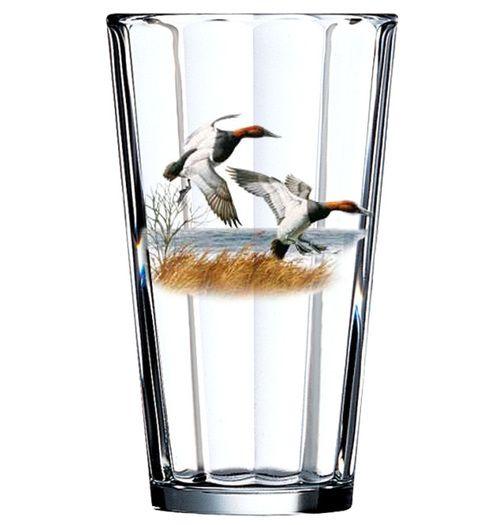 Redhead Duck Pint Glass