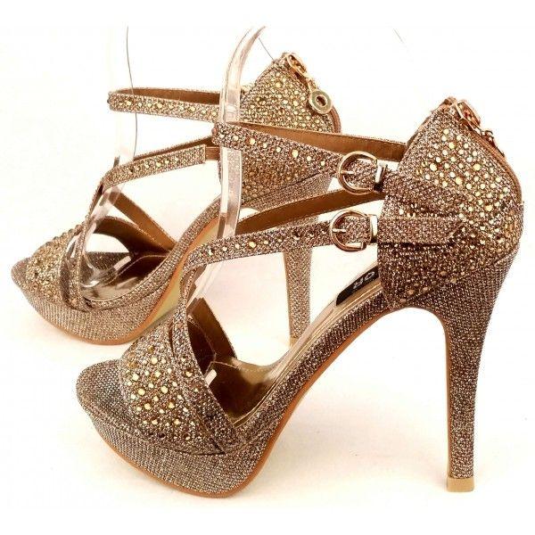 Chaussures Rose Celine Avec Boucle Pour Femmes Z0jbn