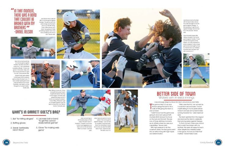 These outstanding spreads, images, graphics and more will make you stop and take a second look. Your next yearbook idea is waiting here.