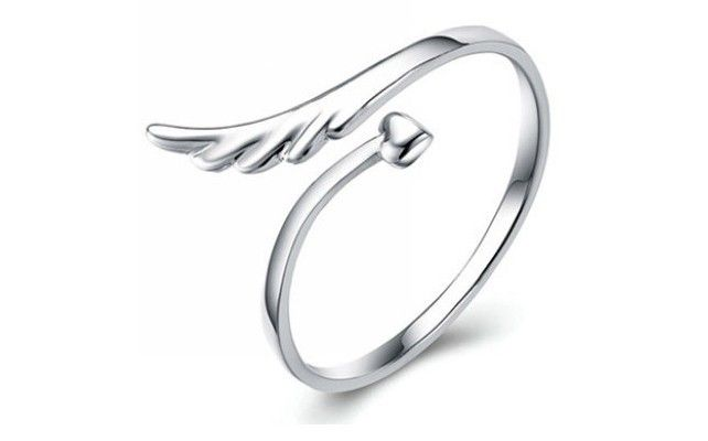2013 fashion fashion finger ring 925 drop shipping jewelry Adjustable gifts  cross angel feathers  whosale free shipping $4.58