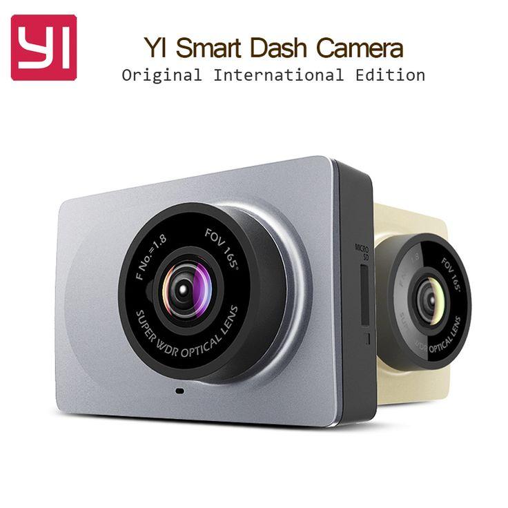 オリジナル国際版xiaomi yiスマート車dvr wifi xiaoyiダッシュカメラ165度adas 1080 p 60fps 2.7インチ車カメラ
