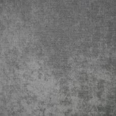 Silver Velvet Upholstery Fabric - Messina 2059