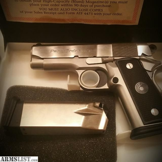 Para Ordnance P-12 sub-compact model 1911 in .45 ACP (For Sale @ ARMSLIST.com)