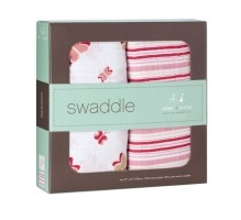 These swaddle blankets for #baby are made with rayon from #bamboo fibers.