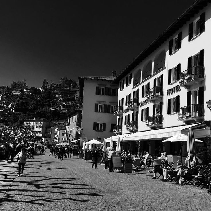 See you at the Piazza! #Aperitivotime at #AlbergoCarcani #Ascona #Ticino