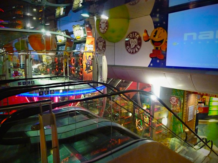 Child's dream house. London NAMCO station.