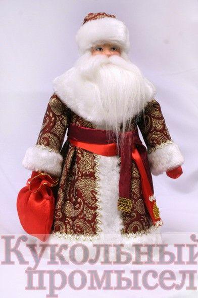 338 Дед мороз конфетница
