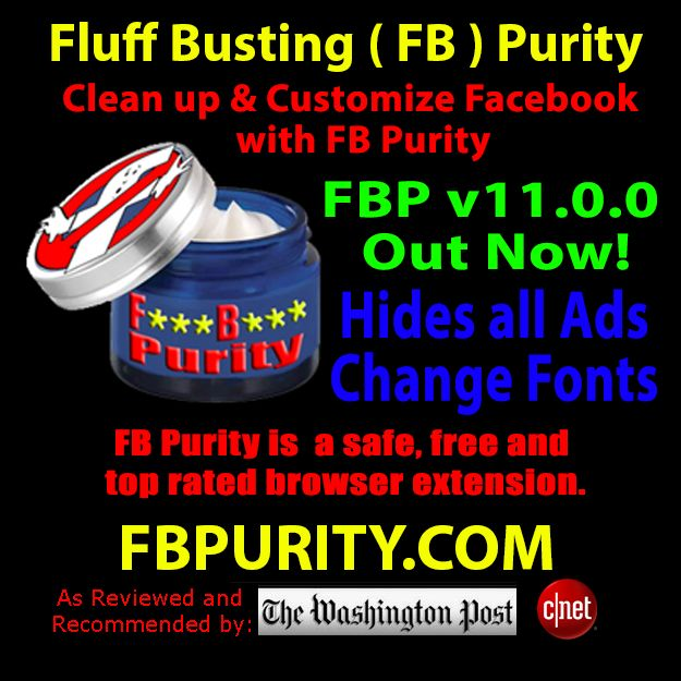FB Purity makes using Facebook less annoying and more fun. It gives you lots of options for cleaning up the junk on facebook, and changing the style of the site to suit your personality