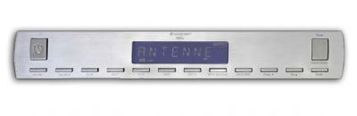 Christmas Gift Idea: Silver FM Under Cabinet Radio for Kitchen - SoundMaster  #Kitchen #Radio #Christmas #Gifts #BuyCleverStuff