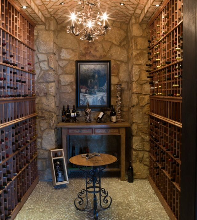 Rimstone   Mediterranean   Wine Cellar   Dallas   RJ Aldriedge Companies Inc