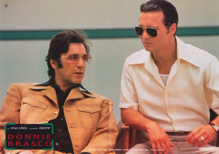 Donnie Brasco (German) 11x14 Movie Poster (1996)