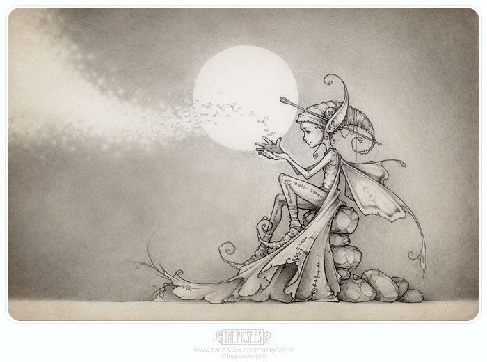 Nalu, a firefly faerie.