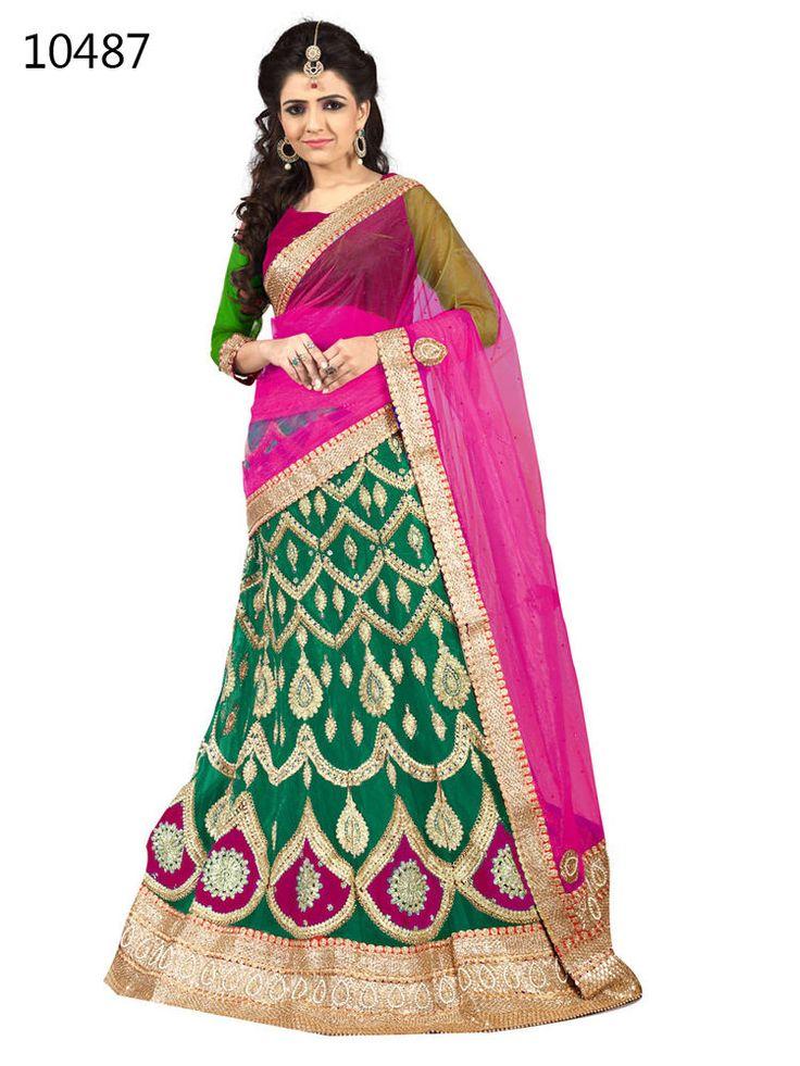 Traditional Wedding Bridal Indian Lehenga Choli Bollywood Pakistani Ethnic Ami  #KriyaCreation #DesignerLehengaCholi