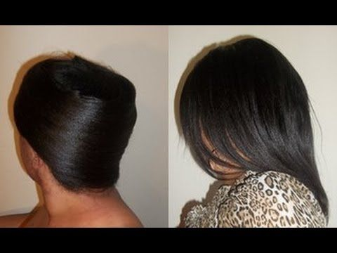 How to Roller Wrap Your Hair aka Silk Wrap  Cute Styles  Hair Tipz  Suppliez  Hair