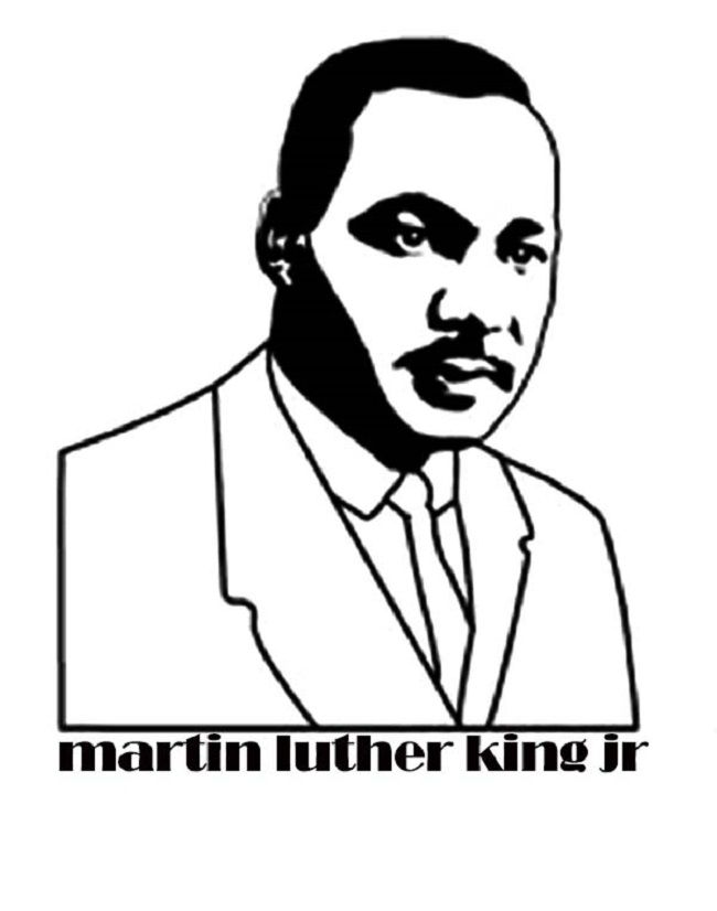7 best najwa images on Pinterest Day care, For kids and Learning - copy coloring pages of dr martin luther king jr