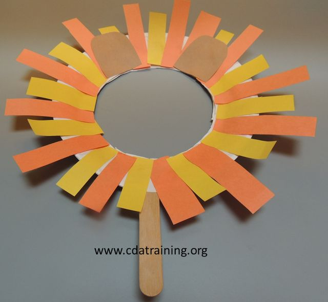 Early Childhood Education * Resource Blog: Paper Plate Masks