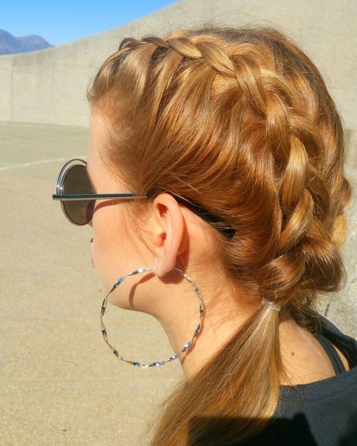 Sporty braids