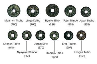#AJ_ #Docente2.0 Historia de la acuñación de monedas japonesas, he aquí su evolución y algunos de sus ejemplos.