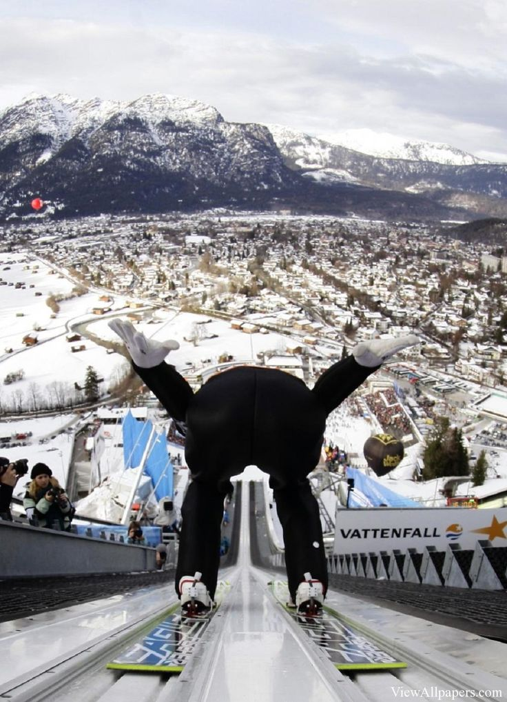 Ski Jump   one of our grandsons is in to this sport has jumped all over the US as well as Europe