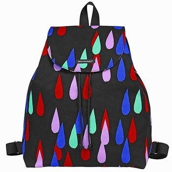Funky and functional. Backpacks are back, and more fun and fashionable than ever. Marimekko Keitele Black/Multi Backpack - $180