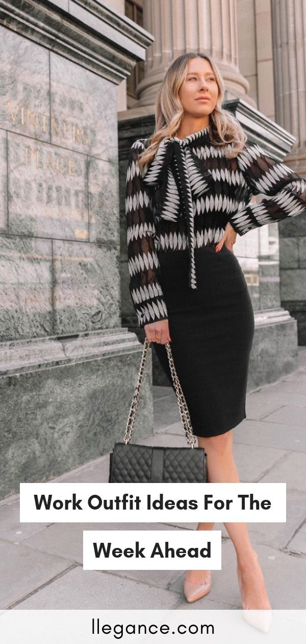 Work Outfit Ideas For The Week Ahead 9