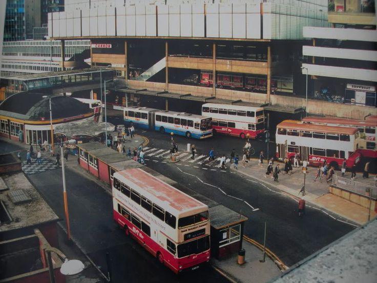Sheffield Interchange in the 80s