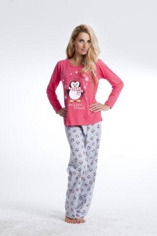 Piżama z pingwinem PD-4101