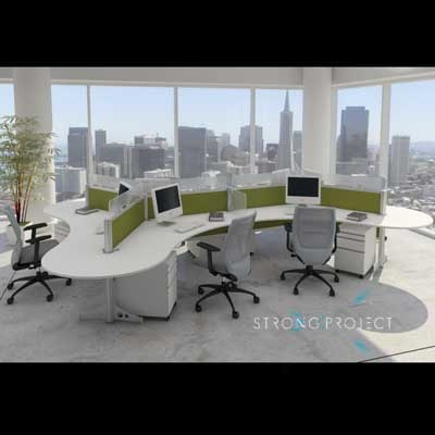 create the perfect modern for your talent with modular office furniture and adjustable height benching systems that are well designed
